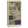 tennsco™ Welded Bookcase - 72H x 36W x 18D