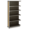 Paragon Intuitive® IC Wood & Steel Library Shelving - 72