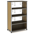 Paragon Intuitive® IC Wood & Steel Library Shelving - 60