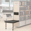 Paragon Intuitive® IC Wood & Steel Shelving - Double-Face End-of-Range Bench