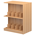 Atlantis™ Wood Double-Face Mobile Picture Book Library Shelving - 42