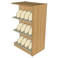 Atlantis™ Wood & Steel Double-Face Picture Book Library Shelving - 60