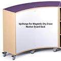 Upcharge for Magnetic Dry Erase Marker Board Back