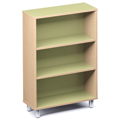 Russwood® Envision Wood Library Shelving - 42H, Single-Face, 1 Bay