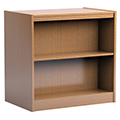 Russwood® Stately™ Wood Double-Face Mobile Library Shelving - 36H x 24D Starter