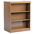 Russwood® Stately™ Wood Double-Face Mobile Library Shelving - 48H x 24D Starter