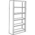 Nautilus™ Wood Library Shelving - 60H x 12D Single-Face Starter