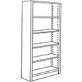 Nautilus™ Wood Library Shelving - 72H x 12D Single-Face Starter