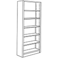Nautilus™ Wood Library Shelving - 82H x 12D Single-Face Starter
