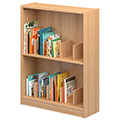 Atlantis™ Wood Picture Book Library Shelving - Single-Faced