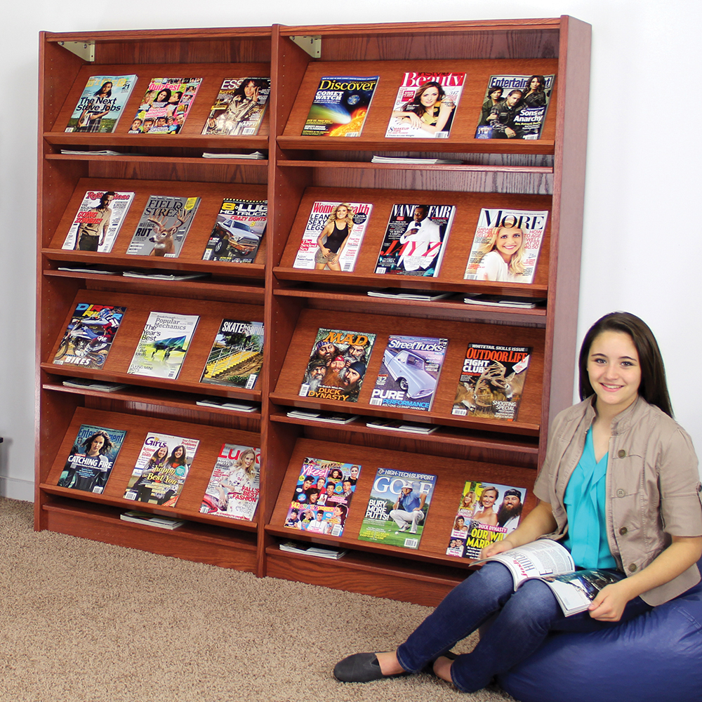Atlantis™ Magazine Library Shelving