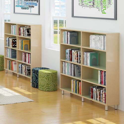 Russwood® Envision Wood Library Shelving