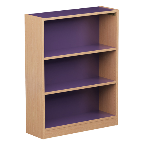 Russwood® Inspire Wood Library Shelving - Single-Face