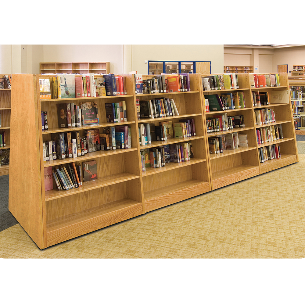 Russwood® Mobile Bookstore Shelving