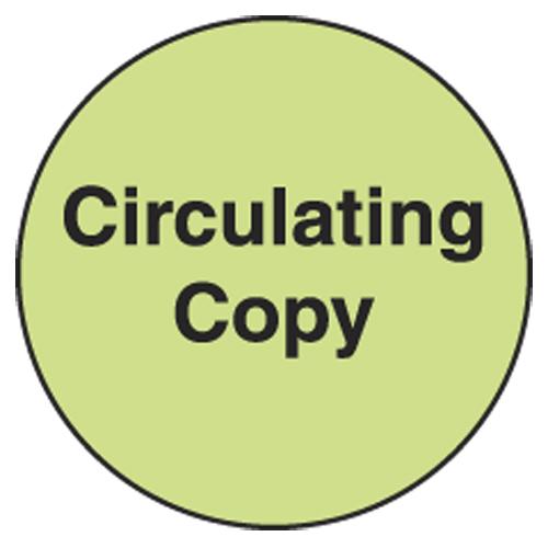Information Dot Labels - Circulating Copy, 250/Roll