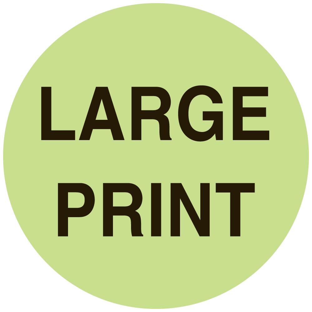 Information Dot Labels - Large Print, 250/Roll