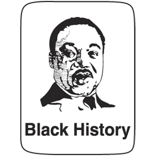 Classification Labels - Black History, 250/Roll