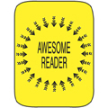 Classification Labels - Awesome Reader, 250/Roll