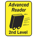 Advanced Reader Labels - 2nd Leve, 250/Roll