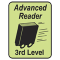 Advanced Reader Labels - 3rd Level, 250/Roll