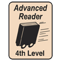 Advanced Reader Labels - 4th Level, 250/Roll