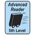 Advanced Reader Labels - 5th Level, 250/Roll