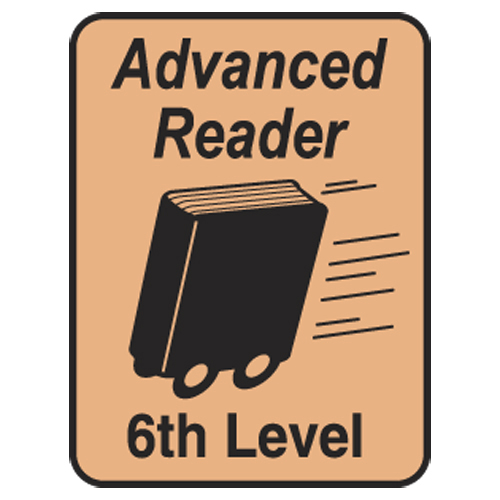 Advanced Reader Labels - 6th Level, 250/Roll