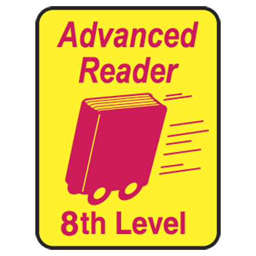 Advanced Reader Labels - 8th Level, 250/Roll