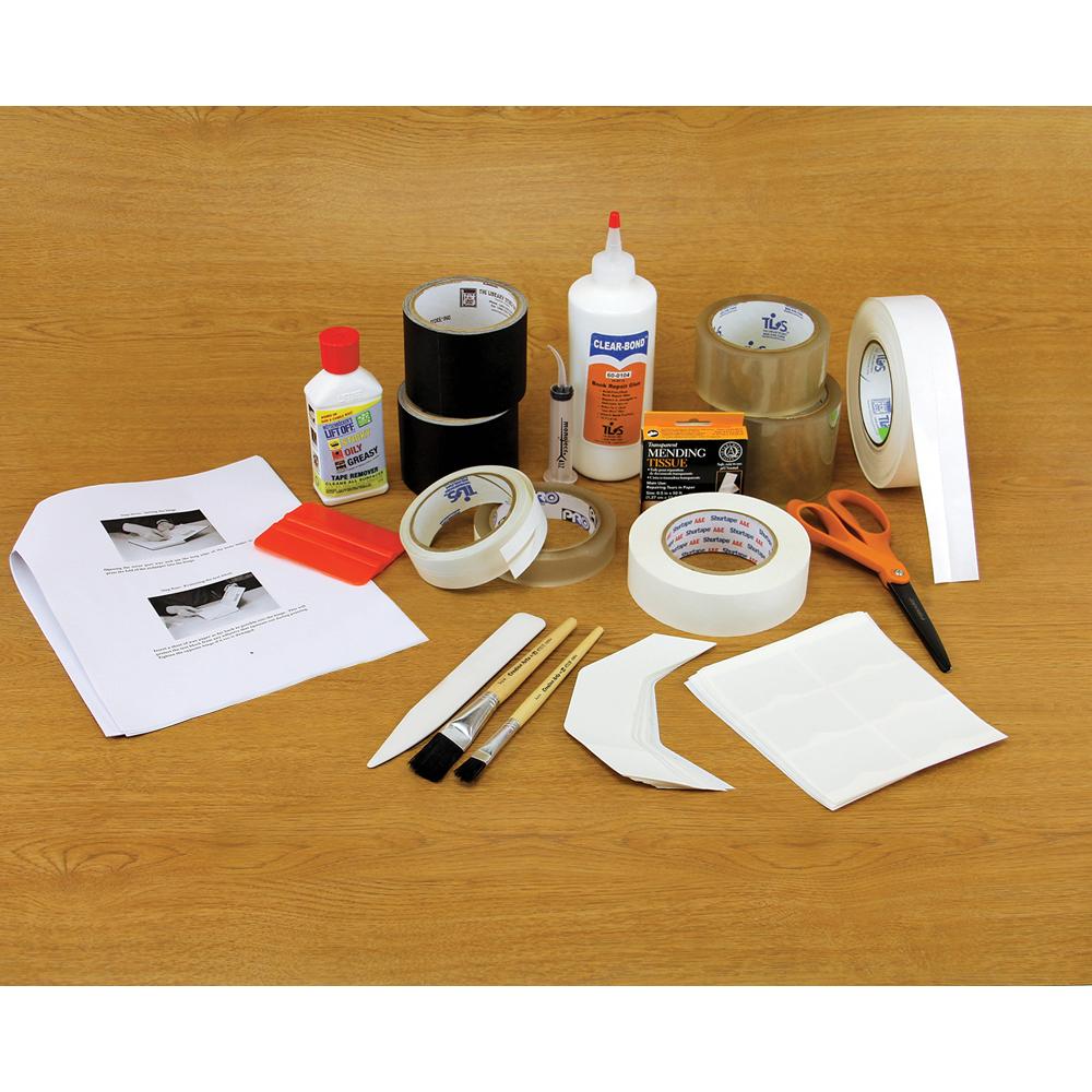 Total Book Repair Kit with Tools