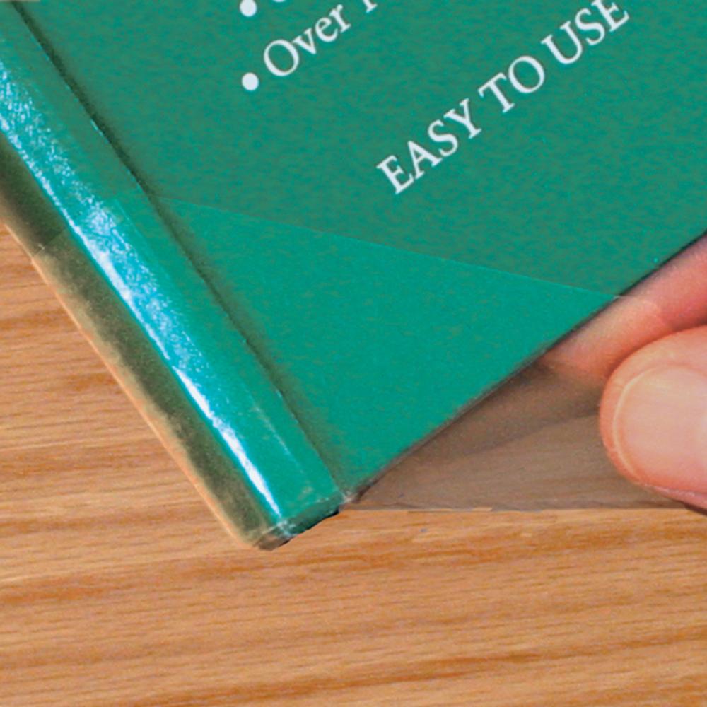 Spine-Lock™ Book Repair Wings - 4-mil 24/Pkg, Transparent
