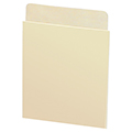 Plain Back Book Pockets - Deep Low Back, No Date Grid, 100/Pkg