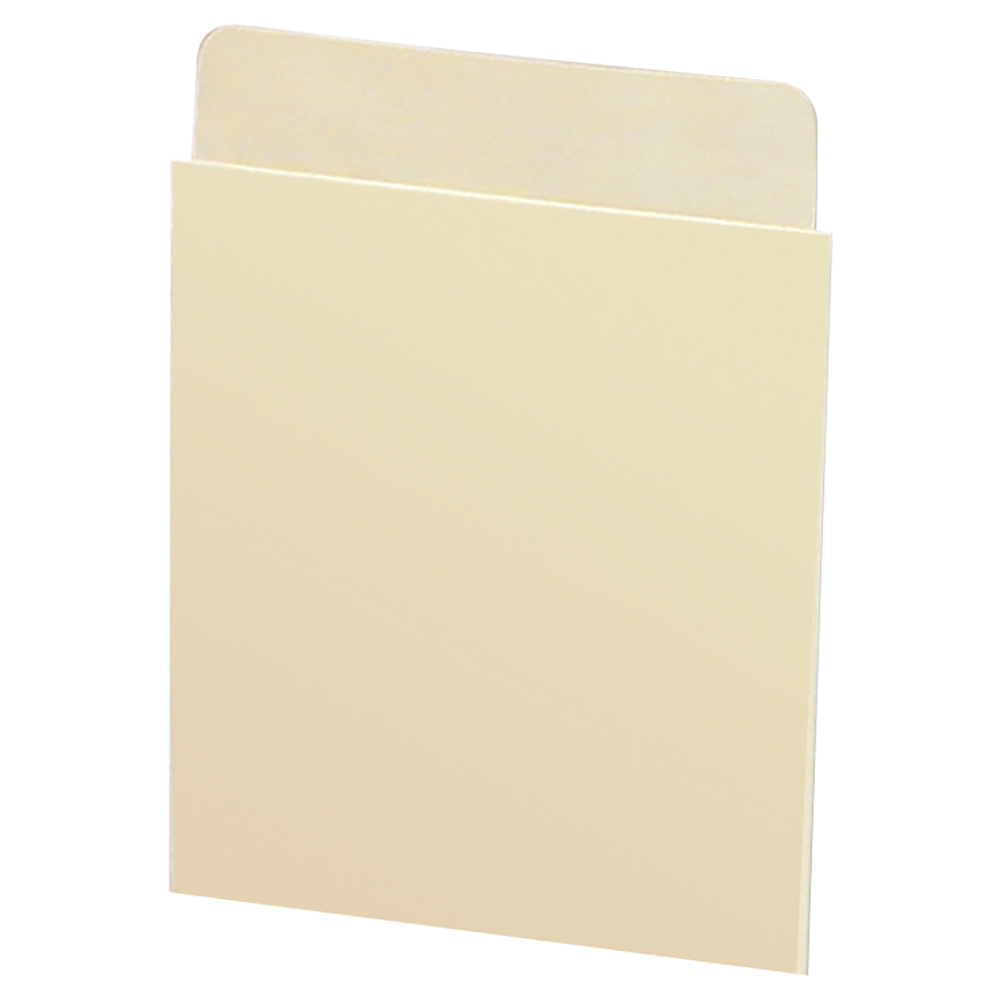 Self-Adhesive Book Pockets - Deep Low Back, No Date Grid