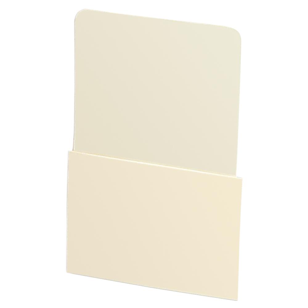 Plain Back Book Pockets