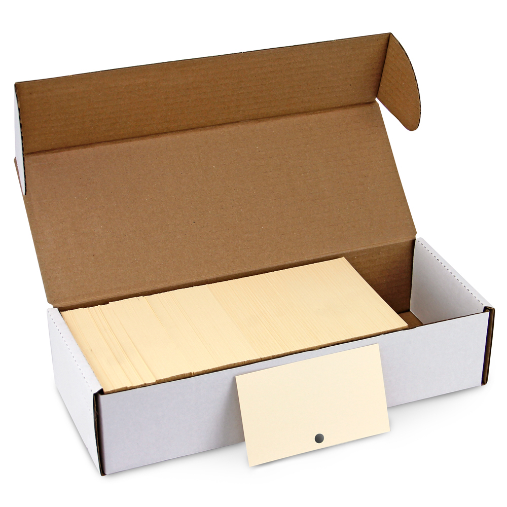 Catalog Cards - Medium Weight, 1000/Pkg