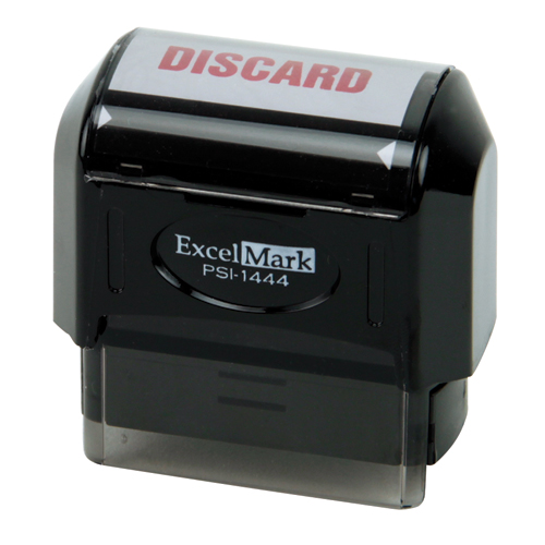 Pre-Inked Stock Stamp - Discard
