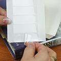 Pre-Cut Book Jacket Attaching Tabs - 500/Pkg