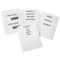 Laser/Inkjet Label Inserts - 11/16