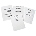 Inserts for Clip-Eze™ Label Holders - 1-1/2