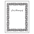 Individual Bookplates - In Memory of, 75/Pkg