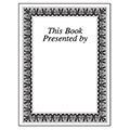 Individual Bookplates - This Book Presented by, 75/Pkg