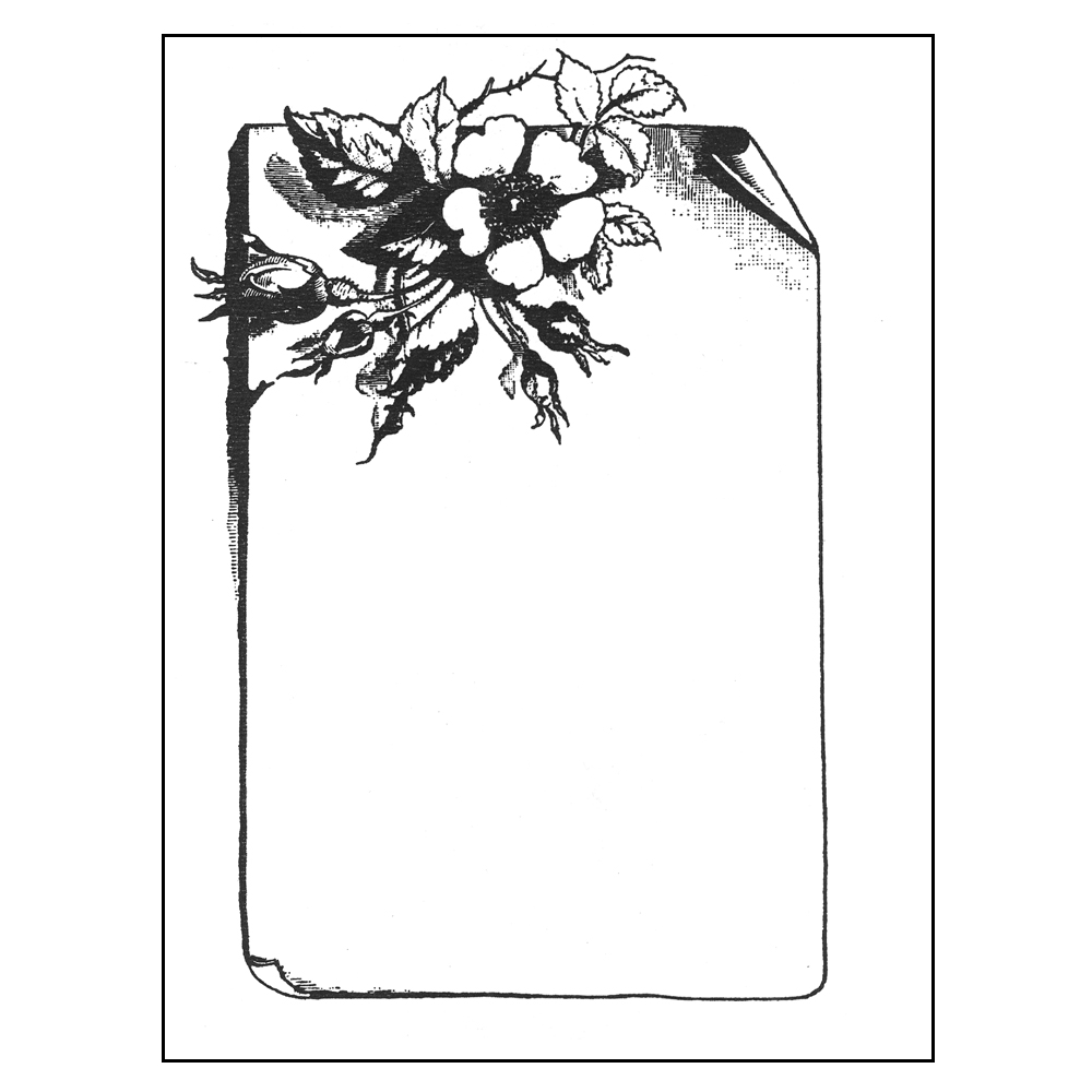 Individual Bookplates - Floral, 75/Pkg