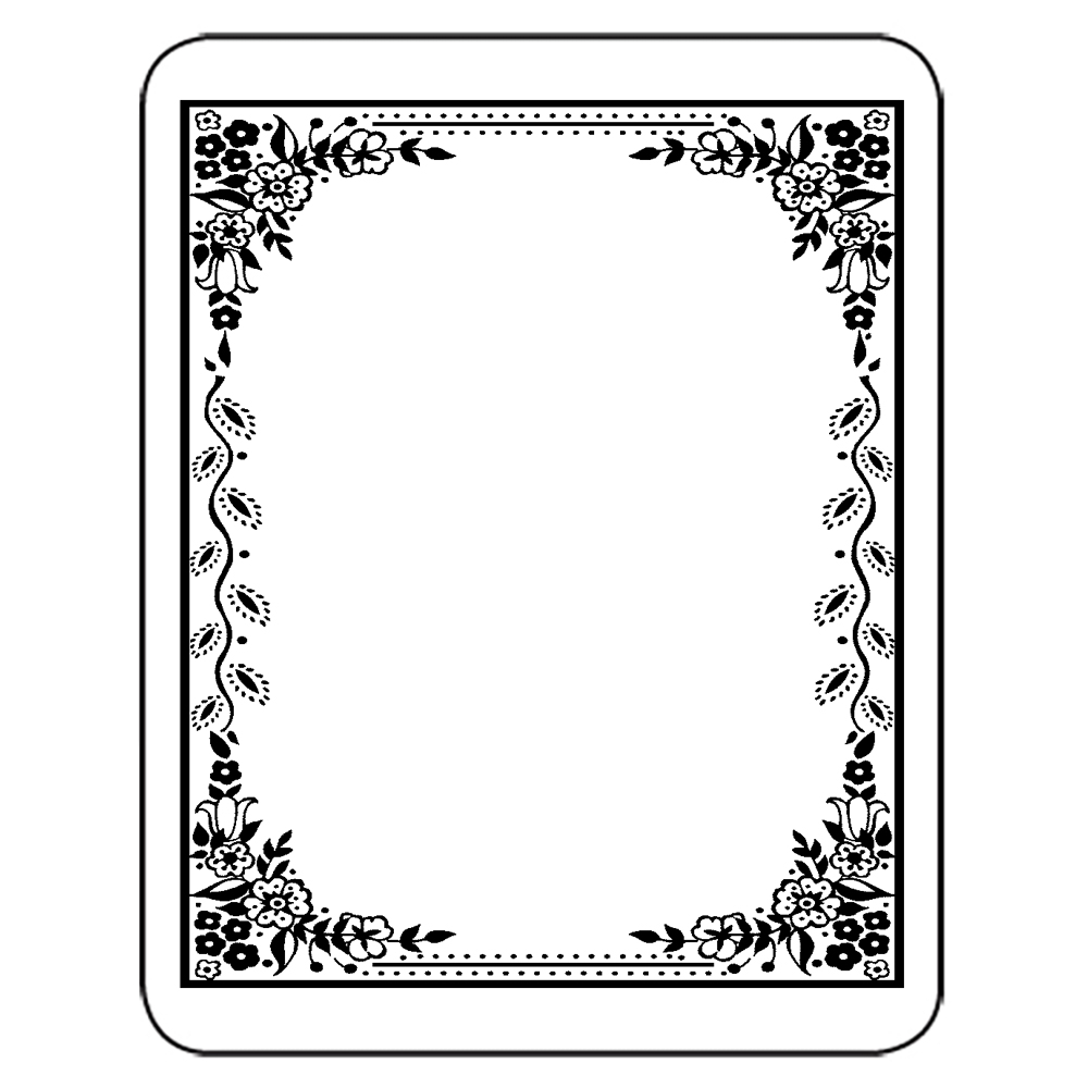 picture relating to Free Printable Bookplates for Adults named Bookplates - Laser Inkjet Bookplates - Stylish Border, 150/Pkg