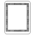 Laser & Inkjet Bookplates - Decorative Border, 150/Pkg