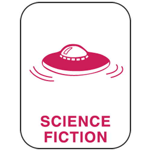 Classification Labels - Science Fiction, 250/Roll