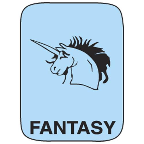 Classification Labels - Fantasy, 250/Roll