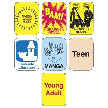 Adult video labels