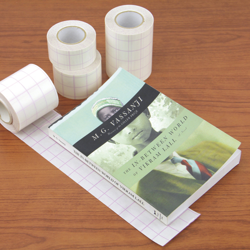 Vistatape Book Tape with Grid Liner