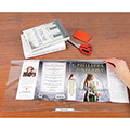 Multi-Fit™ Adjustable Book Jacket Covers - Sheets - with Tab - 1.5-mil - 50/Box