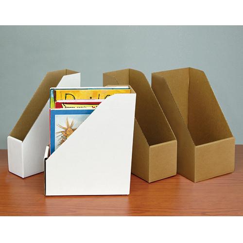 Economical Corrugated Book/Magazine File Cases