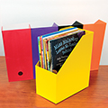 ColorPam Jumbo Book/Magazine File Case
